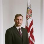 Premierminister der Republik Lettland, Valdis Dombrovskis