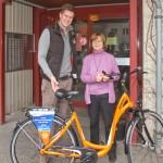 Hauptgewinn der Tombola - Fahrrad von Mietrad Usedom