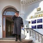 Wagenmeister Bernd Kratzel: Herzlichlich Willkommen im Ahlbecker Hof