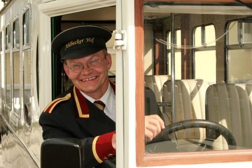 Bernd Kratzel, Wagenmeister im Ahlbecker Hof