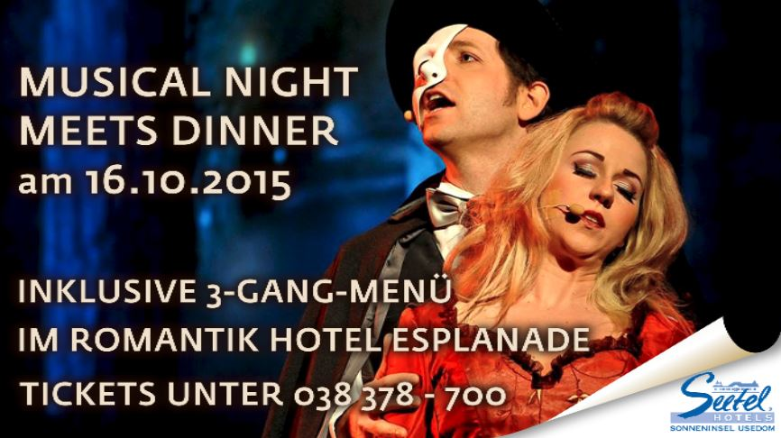 Seetel Eventdinner: Musical