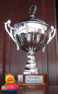 Pokal zum Brauhaus Cup