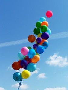 Luftballons beim Seebadfest