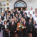 Großer Empfang im Romantik Seehotel Ahlbecker Hof