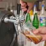 2. Seetel Wintergrillen: frisch gezapftes Inselbier aus dem Usedomer Brauhaus